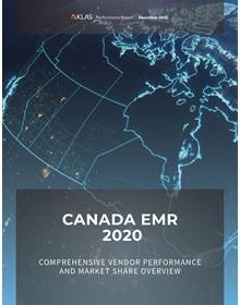 Canada EMR 2020: Comprehensive Vendor Performance and Market Share Overview