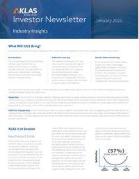 Investor Newsletter January 2021