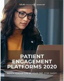 Patient Engagement Platforms 2020: Which Vendor Can Be Your One-Stop Shop?