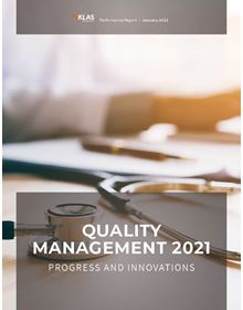 Quality Management 2021: Progress and Innovations