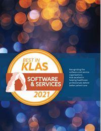 Best in KLAS 2021