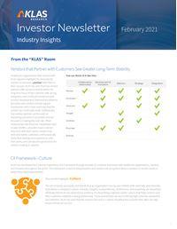Investor Newsletter February 2021