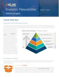 Investor Newsletter March 2021