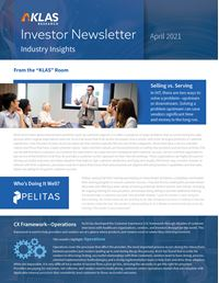 Investor Newsletter April 2021