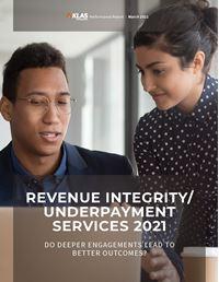 Revenue Integrity/Underpayment Services 2021