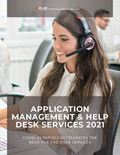 Application Management & Help Desk Services 2021: COVID-19 Rapidly Accelerates the Need for End-User Services
