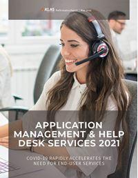 Application Management & Help Desk Services 2021