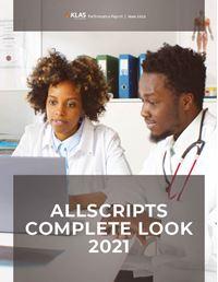 Allscripts Complete Look 2021