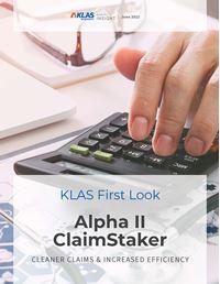 Alpha II ClaimStaker