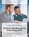 Enterprise Resource Planning 2021 Report Cover Image