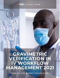 Gravimetric Verification In IV Workflow Management 2021