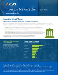Investor Newsletter July 2021