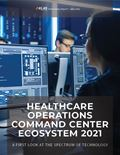Healthcare Operations Command Center Ecosystem 2021: A First Look at the Spectrum of Technology
