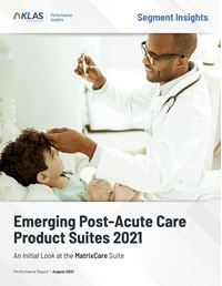 Emerging Post–Acute Care Product Suites 2021