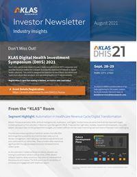 Investor Newsletter August 2021