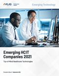 Emerging HCIT Companies 2021: Top-of-Mind Healthcare Technologies