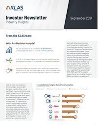 Investor Newsletter September 2021