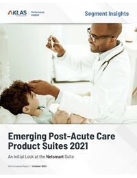 Emerging Post-Acute Care Product Suites 2021