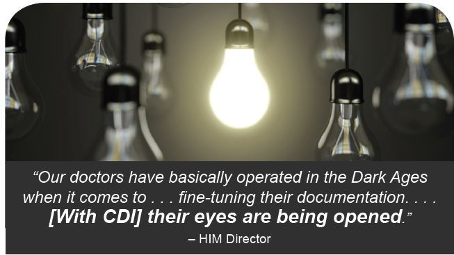 with cdi their eyes are being opened