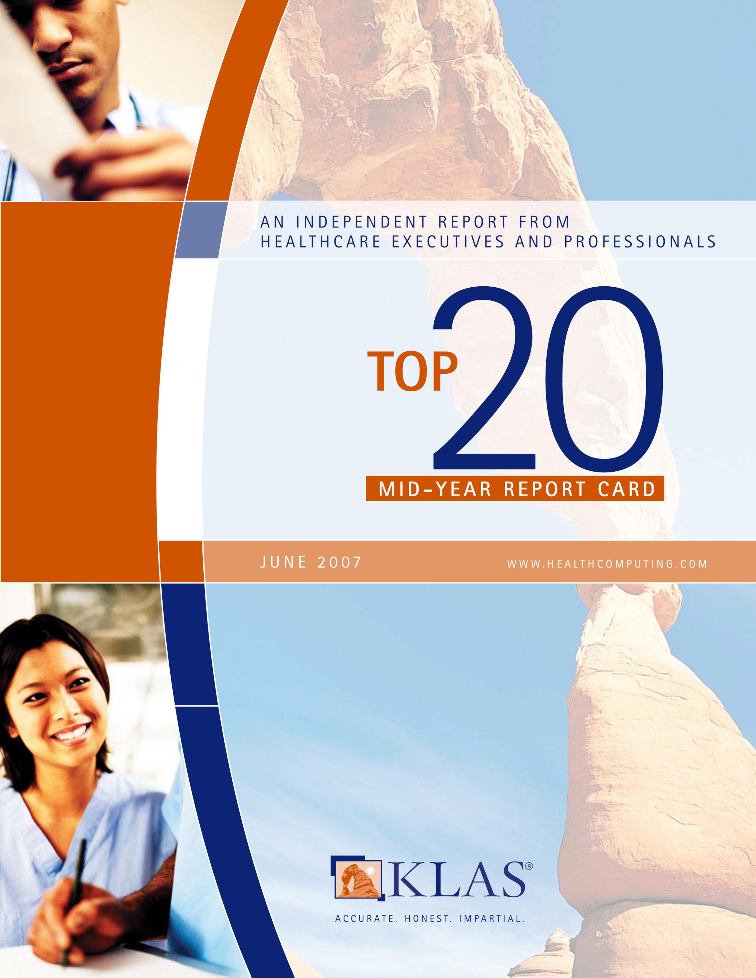 top 20 2007 mid year report card klas report