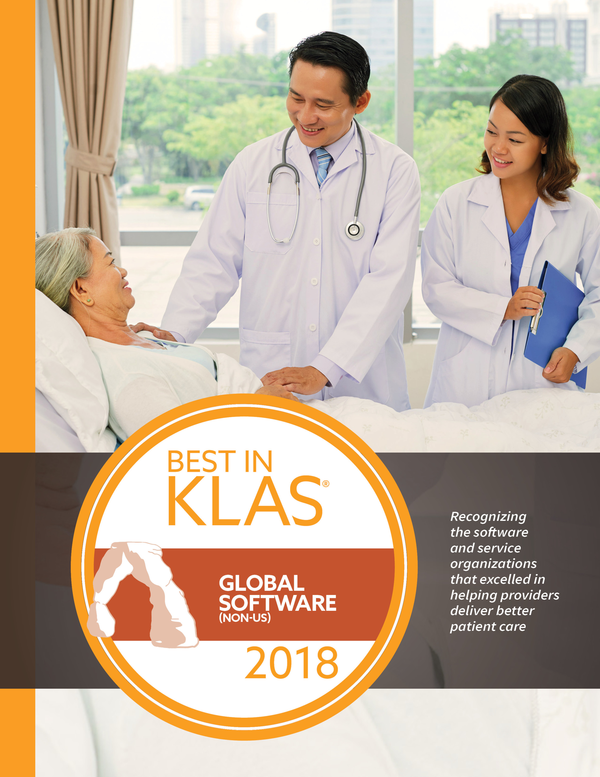 2018 Global Best in KLAS
