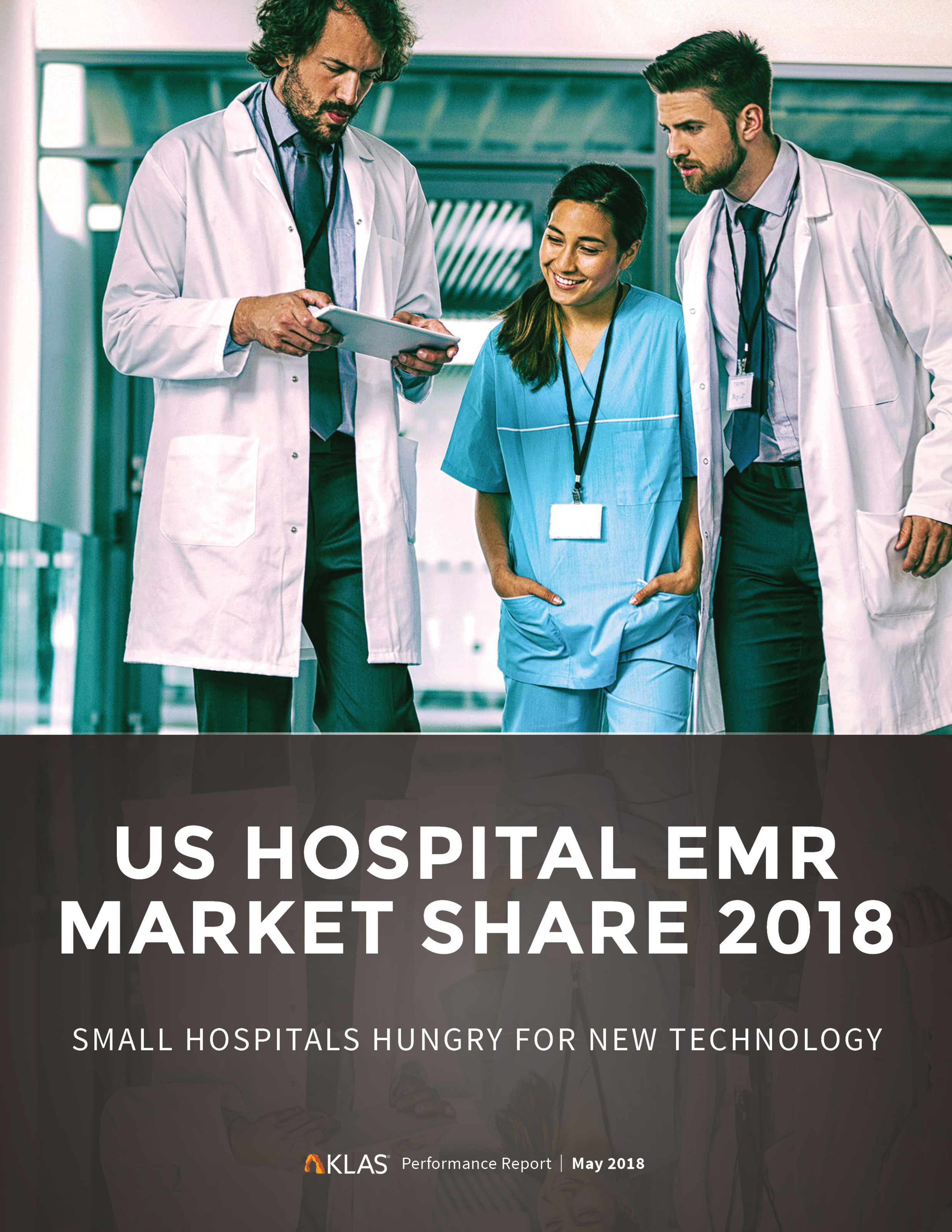 US Hospital EMR Market Share 2018