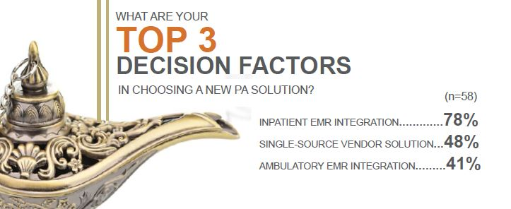 top 3 decision factors in choosing a new solution