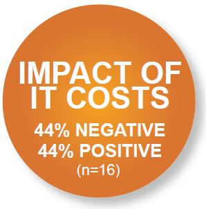 impact of it costs