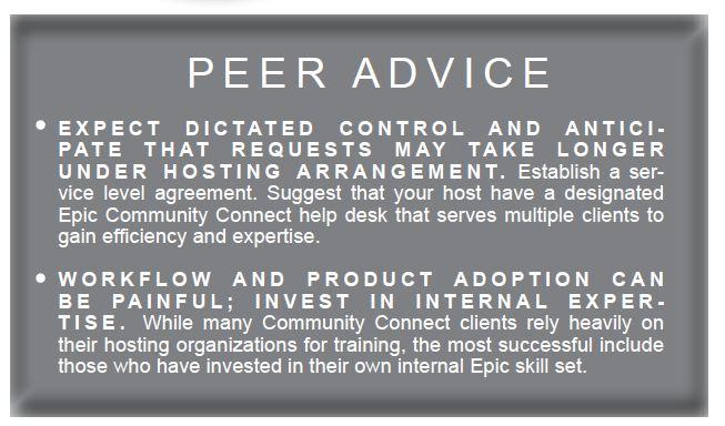 peer advice