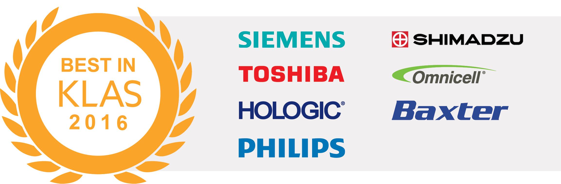 best in klas winners logos