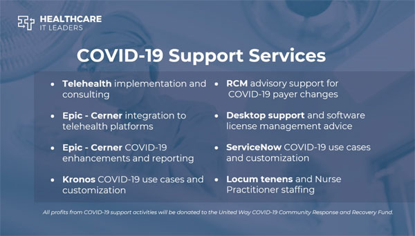 healthcare it leaders staffing and consulting support services