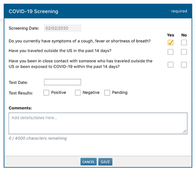 mckesson iknowmed covid19 screening